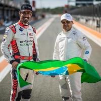 Lucas Di Grassi e Felipe Massa (Foto: Divulgação)