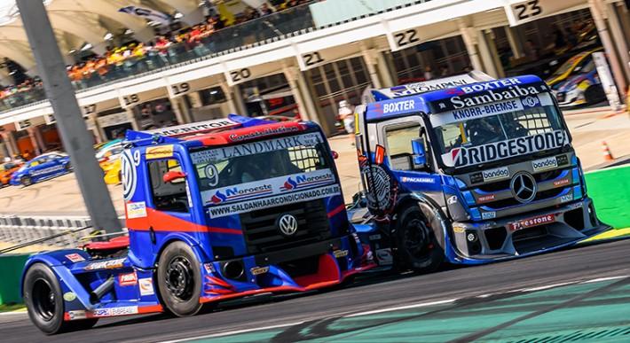 As etapas de campeonatos brasileiros, como a Copa Truck, incluem provas de outras categorias (Júlio D'Paula)