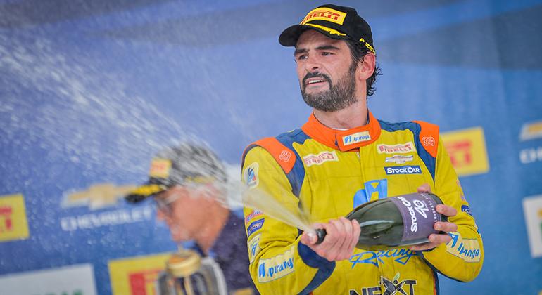 Thiago Camilo venceu seis corridas em 2019 e conquistou seu quarto vice-campeonato (Duda Bairros/Vicar)