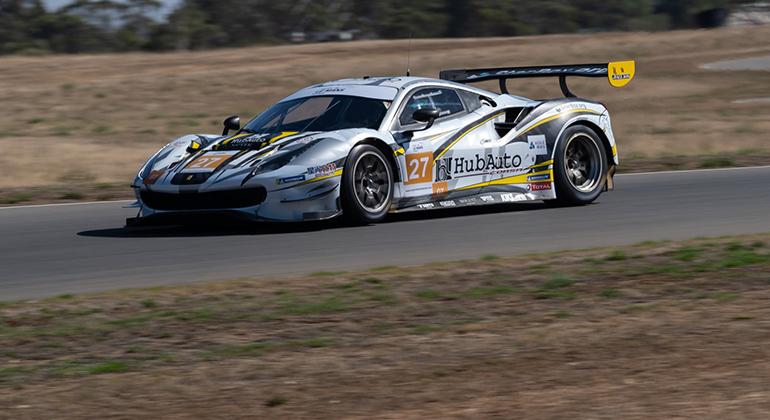 Na Austrália Marcos Gomes foi segundo em busca de vaga para as 24 Horas de Le Mans (Asian Le Mans Series)