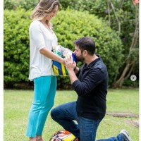 Bia Figueiredo e o marido Fabio Souza