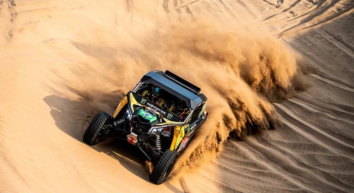 Brasileiros Reinaldo Varela e Gustavo Gugelmin são destaques no Rally Dakar (Marian Chytka)