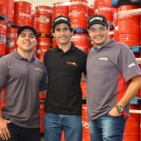 Lucas Bornemann, Sergio Jimenez e Edson Reis (foto: Jackson Morais)