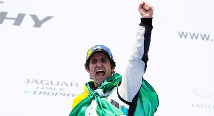 Brasileiro Sérgio Jimenez é o atual campeão do Jaguar I-Pace eTrophy (Jaguar)