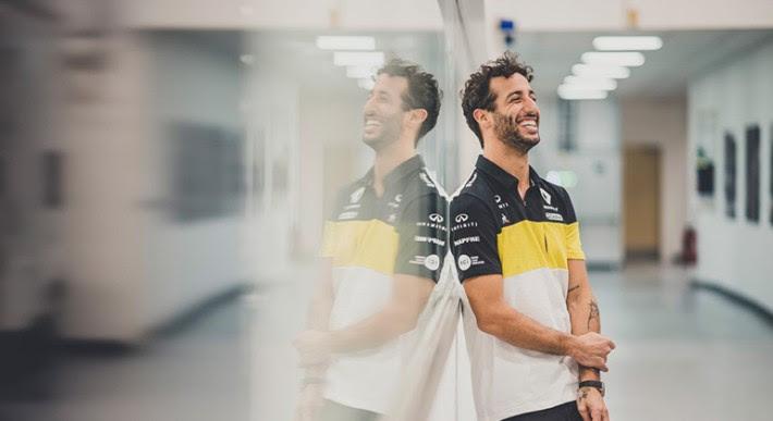 Daniel Ricciardo, atualmente na Renault, é nome cotado para substituir Vettel (Renault)