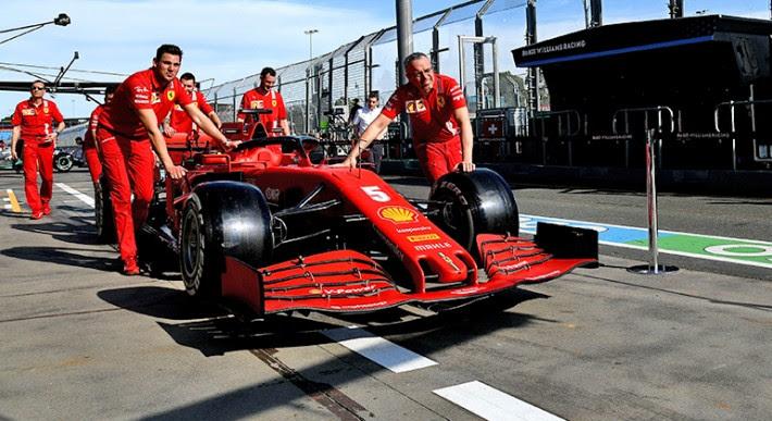 Ferrari número 5 está sem piloto para 2021 (Ferrari)