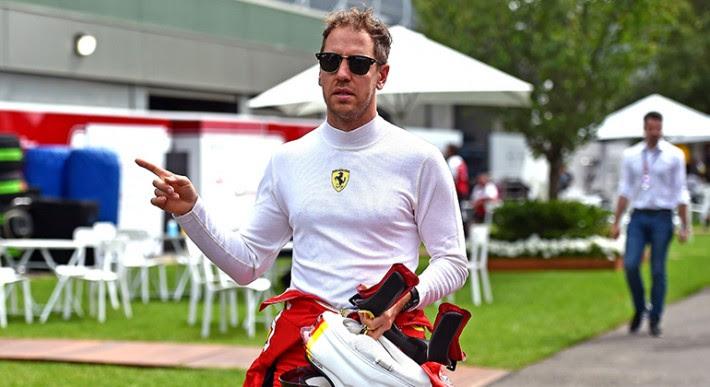 Após cinco temporadas na Ferrari, futuro de Sebastian Vettel aponta para a McLaren (Ferrari)