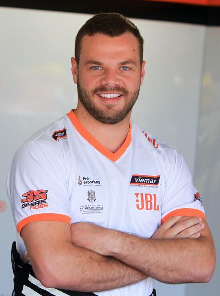 Gabriel Robe (Foto: Vanderley Soares)
