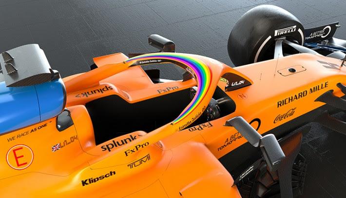 Halo dos carrospromovem nova imagem da F-1 a partir do GP da Áustria (McLaren)