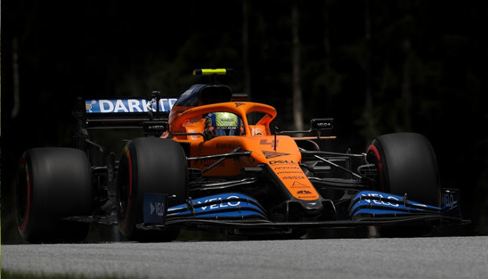 Lando Norris: primeiro pódio após 22 largadas indica seu enorme potencial (McLaren)