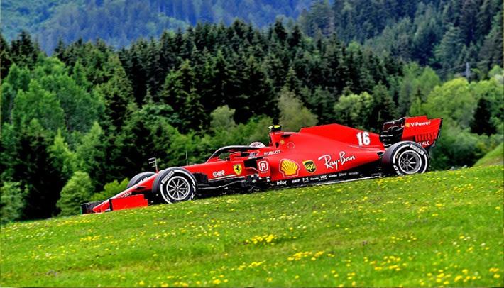 Perseverança e uma boa dose de sorte premiaram Leclerc e a Ferrari (Ferrari)