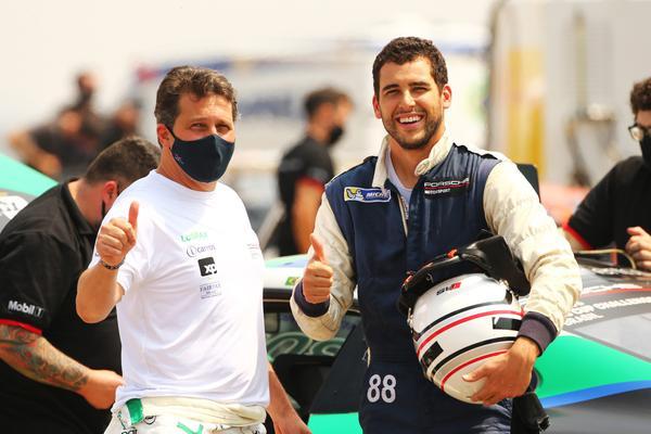 Guiga Spinelli e Lucas Moraes (foto: Luca Bassani/RF1)