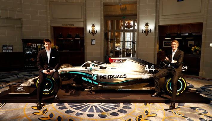 Em janeiro equipe anunciou a chegada da Ineos como principal parceiro (Mercedes)