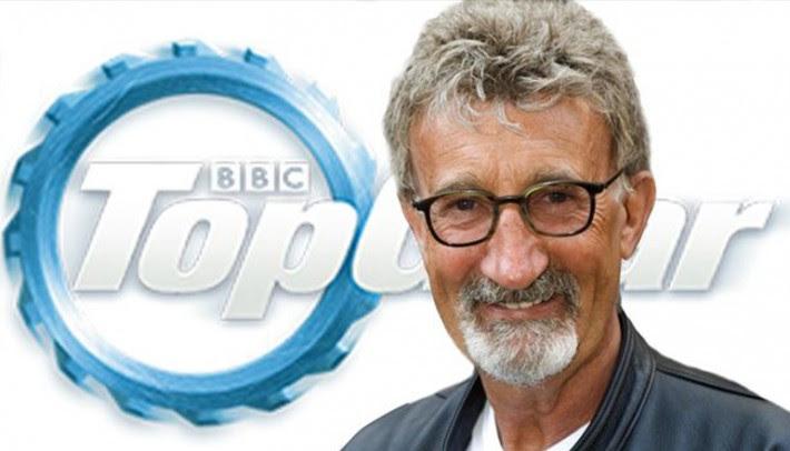 Depois de vender sua equipe de F1 Eddie Jordan passou a trabalhar na TV britânica (BBC/Top Gear)
