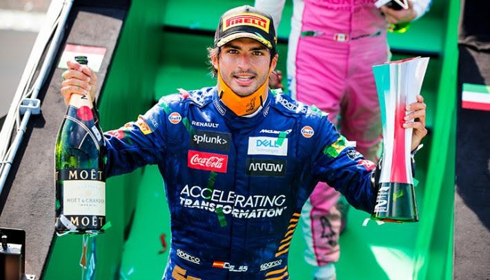Sainz Jr já vivenciou o ambiente que quase nocauteou Gasly (McLaren)