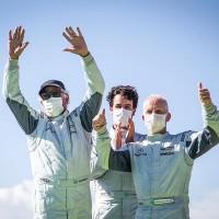 Xandy, Xandinho Negrao e Andreas Mattheis (Foto: Bruno Terena)