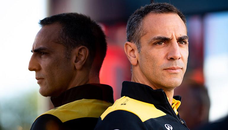 Cyril Abiteboul: longa carreira teve promoção importante e desligamento em questão de meses (Renault Sport)
