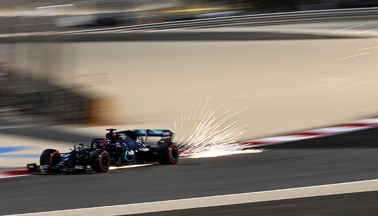 George Russell deixou sua marca quando substituiu Lewis Hamilton na penúltima etapa de 2020 (Mercedes)
