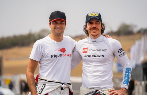 Rodrigo Mello e Nelsinho Piquet (Foto: Divulgação)