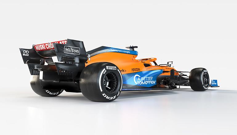 Carenagem do MCL-35M e uniforme da equipe não exibirão a marca do motor alemão (McLaren)