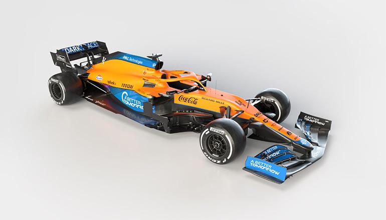 McLaren MCL-35M 2021