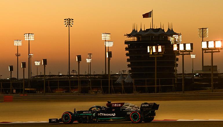 Lewis Hamilton foi um segundo mais lento que Verstappen (Merecedes)