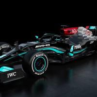 O novo Mercedes W12 que será pilotado por Lewis Hamilton e Valtteri Bottas (Mercedes)