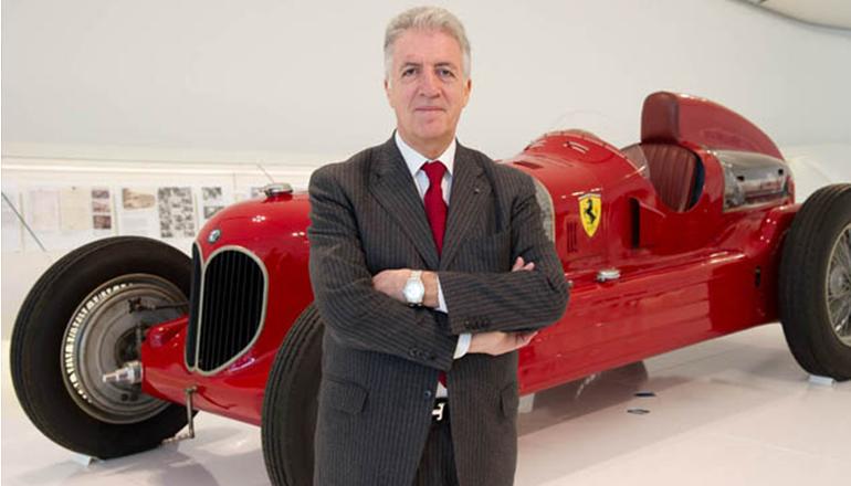 Piero Lardi Ferrari deu demonstração que é filho de Enzo (Ferrari)