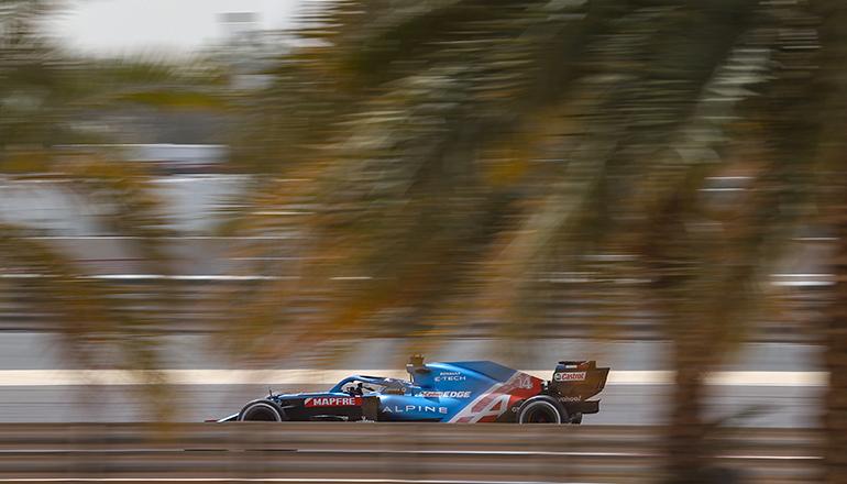 Fernando Alonso: de volta ao time onde foi bi-campeão foi o melhor da Alpine (Alpine)
