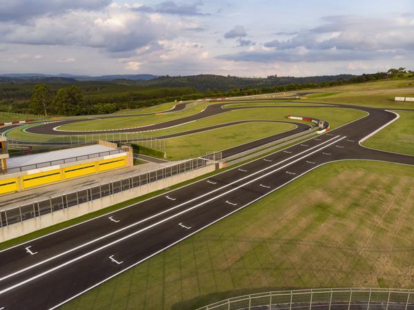 Vista aérea do Autódromo Velocitta (Divulgação/ Velocitta)