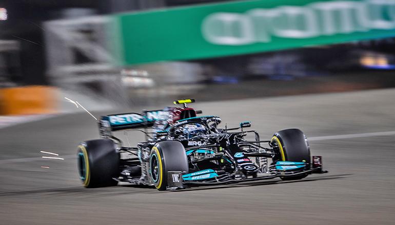 Valttteri Bottas: melhor volta da prova, no último giro, garantiu ponto extra no campeonato (Mercedes)
