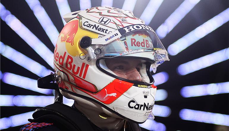 Verstappen brilhou durante todo o final de semana e perdeu a vitória a quatro voltas do final (Red Bull Content Pool)