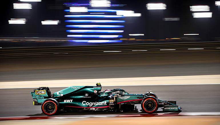 Sebastian Vettel amargou problemas variados em sua estreia pela Aston Martin (Aston Martin Cognizant)