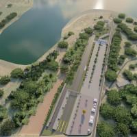 Complexo esportivo será construído na região das Três Lagoas, junto à BR-277 (Prefeitura de Foz do Iguaçu)