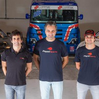 Jimenez, Chiarelli e Nelsinho (Foto: Bruno Terena/MS2)